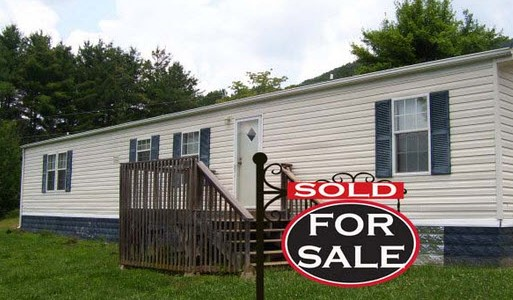 mobile home closing paperwork sold pic