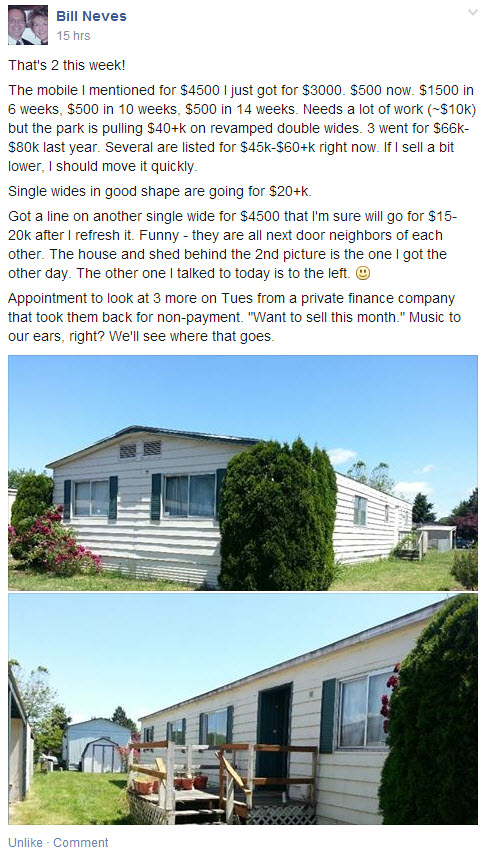 mobile home investing case study