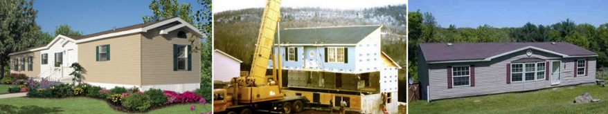 what is the difference between mobile homes manufactured homes and