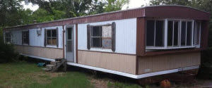 singlewide - aluminum siding - 1976 - No Skirting