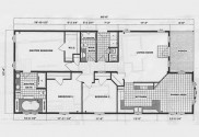 floor plan mobile home