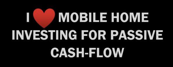 mobile home cash flow
