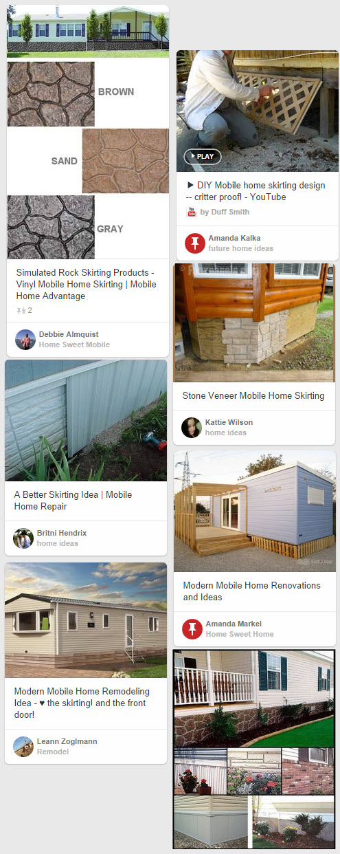 Mobile Home Skirting - A Complete Guide To Mobile Home Skirting As ...