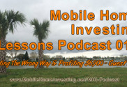 mobile home investing lessons podcast with guest ryan 017