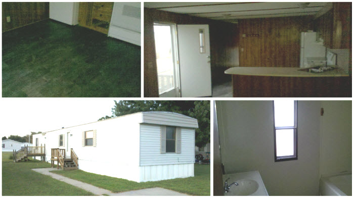 mobile home makeover after