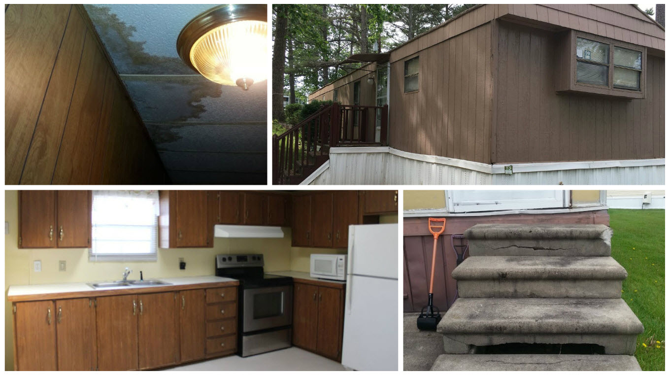 Single Wide Mobile Home Kitchen Remodel Mobile Home Makeover Before And After Rehab Pictures
