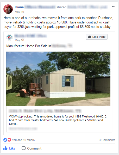 In Conclusion Mobile Home Investing Takes Hard Work And Relatively Daily Effort To Make A Consistent Name For Yourself Help Multiple Buyers Sellers