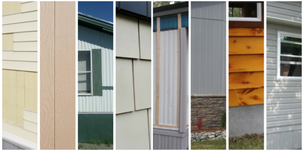 Mobile home siding — Mobile Home Investing on new construction materials, log cabin materials, pueblo home materials,