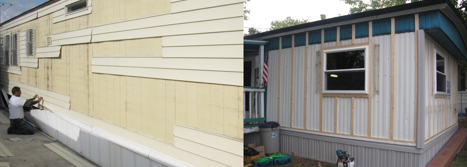 Mobile home siding — Mobile Home Investing